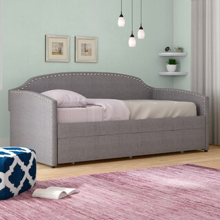 Alcantar Twin Daybed with Trundle by Latitude Run SKU:BE134876 Buy
