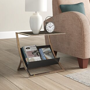 Politiko Side Table With Storage By Metro Lane