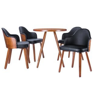 Lindell 5 Piece Dining Set