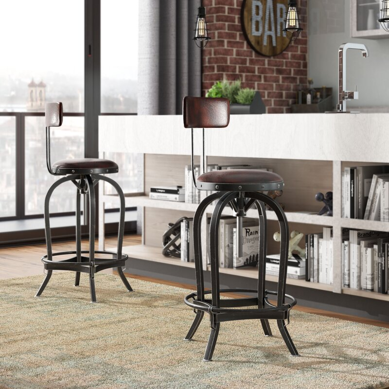 Trent Austin Design Oria Swivel Adjustable Height Bar