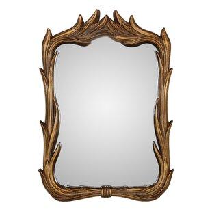 Astoria Grand Irregular Brown Wall Mirror