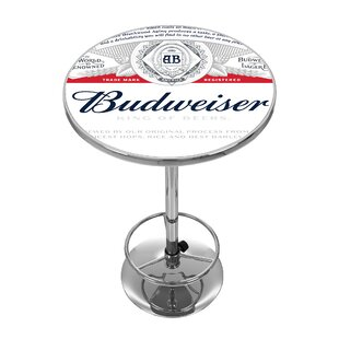 Budweiser Pub Table by Trademark Global Best Choices