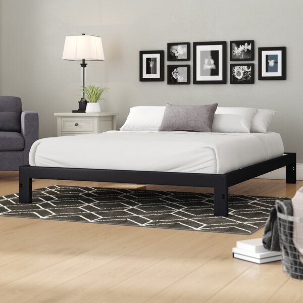 Platform Bed Without Headboard Wayfair