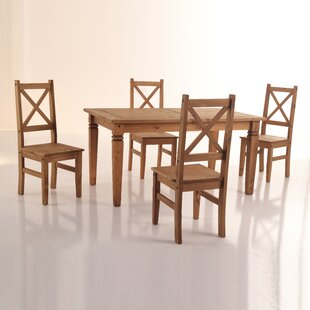 Kassidy 5 Piece Solid Wood Dining Set Spacial Price