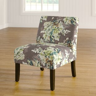 Alleyton Floral Slipper Chair By Winston Porter