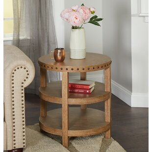 Compare prices Sansa End Table with Storage by Gracie Oaks