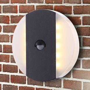 Slagle 1 Light Outdoor Flush Mount With Motion Sensor By Sol 72 Outdoor