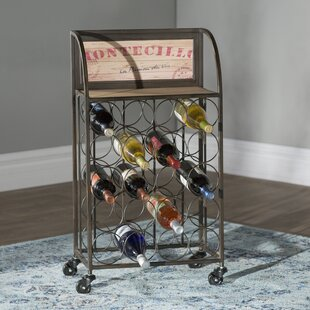 Goulette 20 Bottle Floor Wine Rack by Lar..