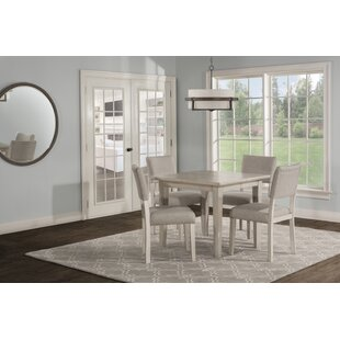 Jill 5 Piece Extendable Dining Set by Hou..