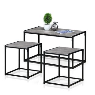 Lewter 3 Piece Coffee Table Set by Ebern Designs
