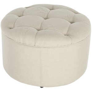 One Allium Way Lenore Upholstered Storage Ottoman