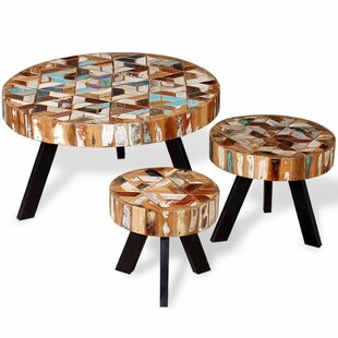 Joel 3 Piece Coffee Table Set By Union Rustic