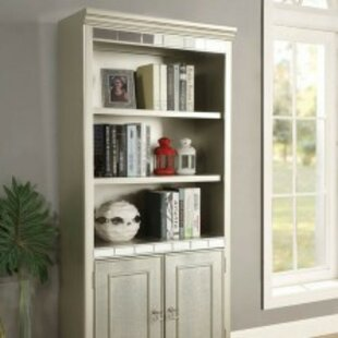 Oneman Transitional Standard Bookcase by Rosdorf Park Cheap