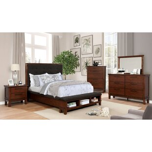 Holden Tufted Queen Platform Configurable Bedroom Set