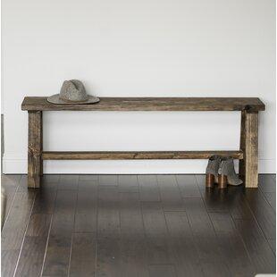 Union Rustic Ari Wood Bench