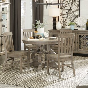 Ellenton 5 Piece Solid Wood Dining Set