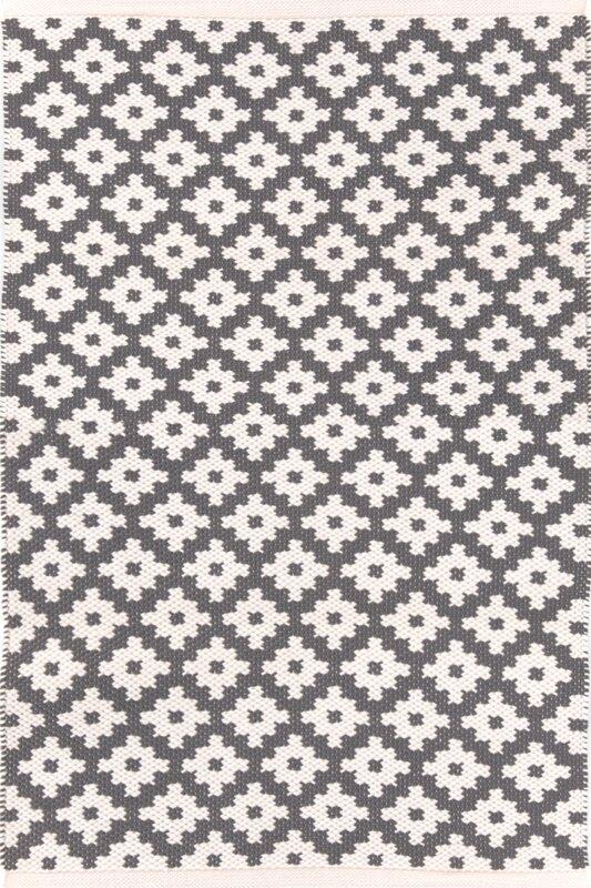 Samode Hand Woven Grey Indoor/Outdoor Area Rug