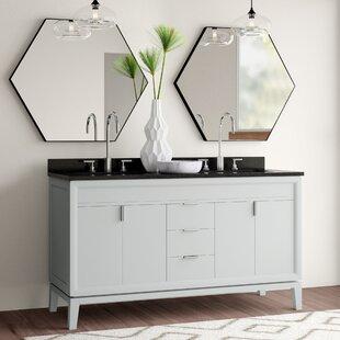 Wigley 61 Double Bathroom Vanity Set by Mercury Row