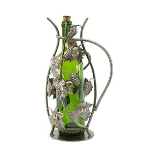Grapes 1 Bottle Tabletop Wine Rack by Wine Bodies