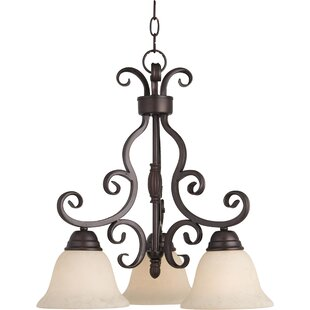 Affordable Amelia 3-Light Shaded Chandelier By Darby Home Co