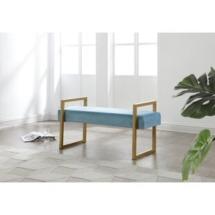Duncanville Upholstered Bench by Everly Quinn