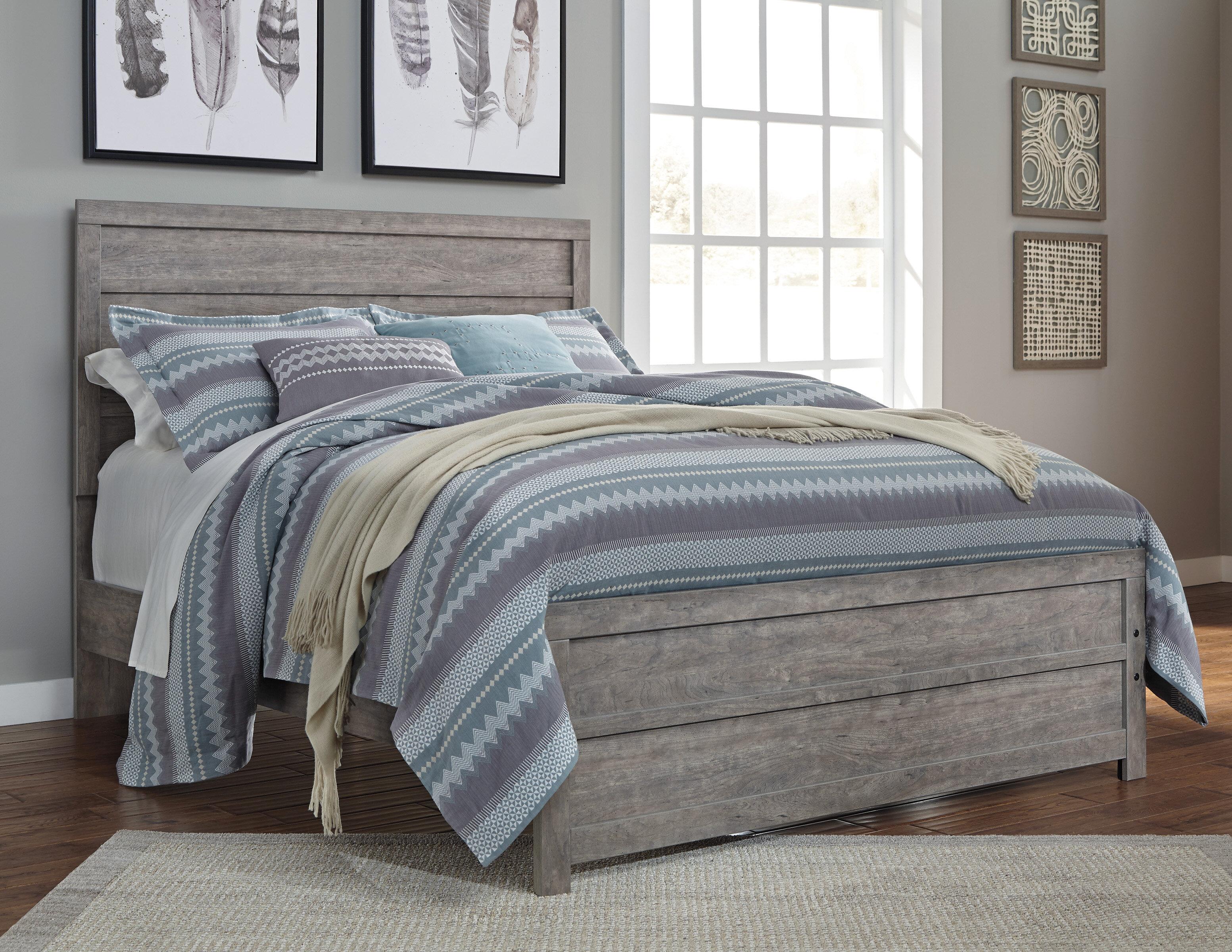 Beachcrest Home Rosen Panel Bed Reviews Wayfair