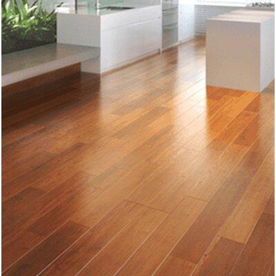 "Ashton 5"" Solid Teak Hardwood Flooring Welles Hardwood Color: Natural"