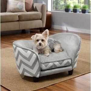 Chevron Snuggle Pet Bed