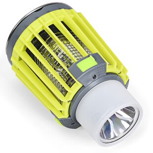 Chaney Yellow Plug-In Outdoor Bug Zapper Flashlight Portable By Freeport Park