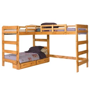 L-Shaped Bunk Bed With Storage by Chelsea Home Comparison