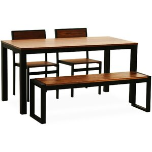 Sierra Parsons Dining Table by 17 Stories