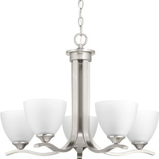 Van Reipen 5-Light Shaded Chandelier