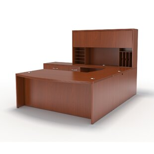 Mayline Group Aberdeen Series 3-Piece U-Shape Desk Office Suite