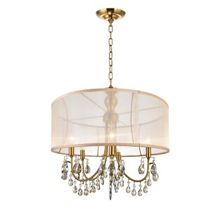 CWI Lighting 5-Light LED Chandelier