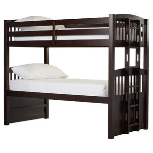 Read Reviews Twin Standard Bunk Bed with Ladder By Viv + Rae