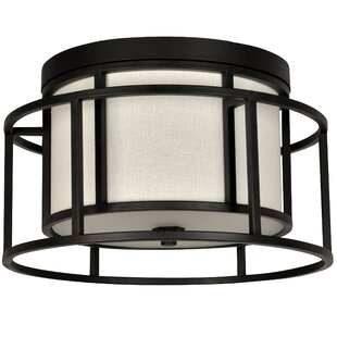 Brayden Studio Hanke 2-Light Flush Mount