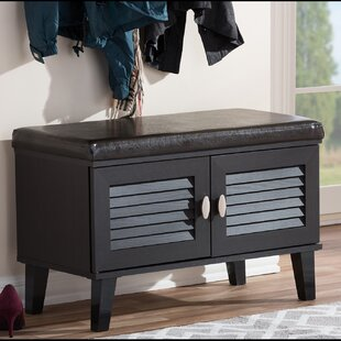 Ebern Designs Spicer 2 Door Entryway 4 Pair Shoe Storage Cabinet