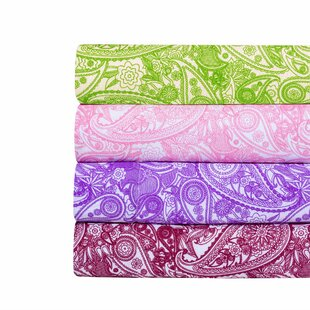 Paisley Print Super Soft Sheet Set