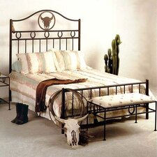 Frontier Wrought Iron Panel Customizable Bedroom Set by Grace Collection