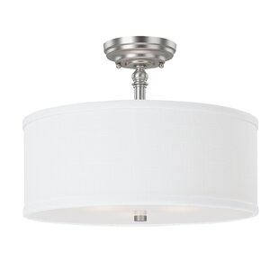 Flush Ceiling Lights For Kitchens Flush mount lighting youll love wayfair save to idea board workwithnaturefo