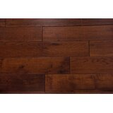 """Thames Hickory Hickory 3/4"""" Thick x 5"""" Wide x Varying Length Solid Hardwood Flooring"""
