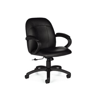 Global Total Office Tamiri Leather Desk C..
