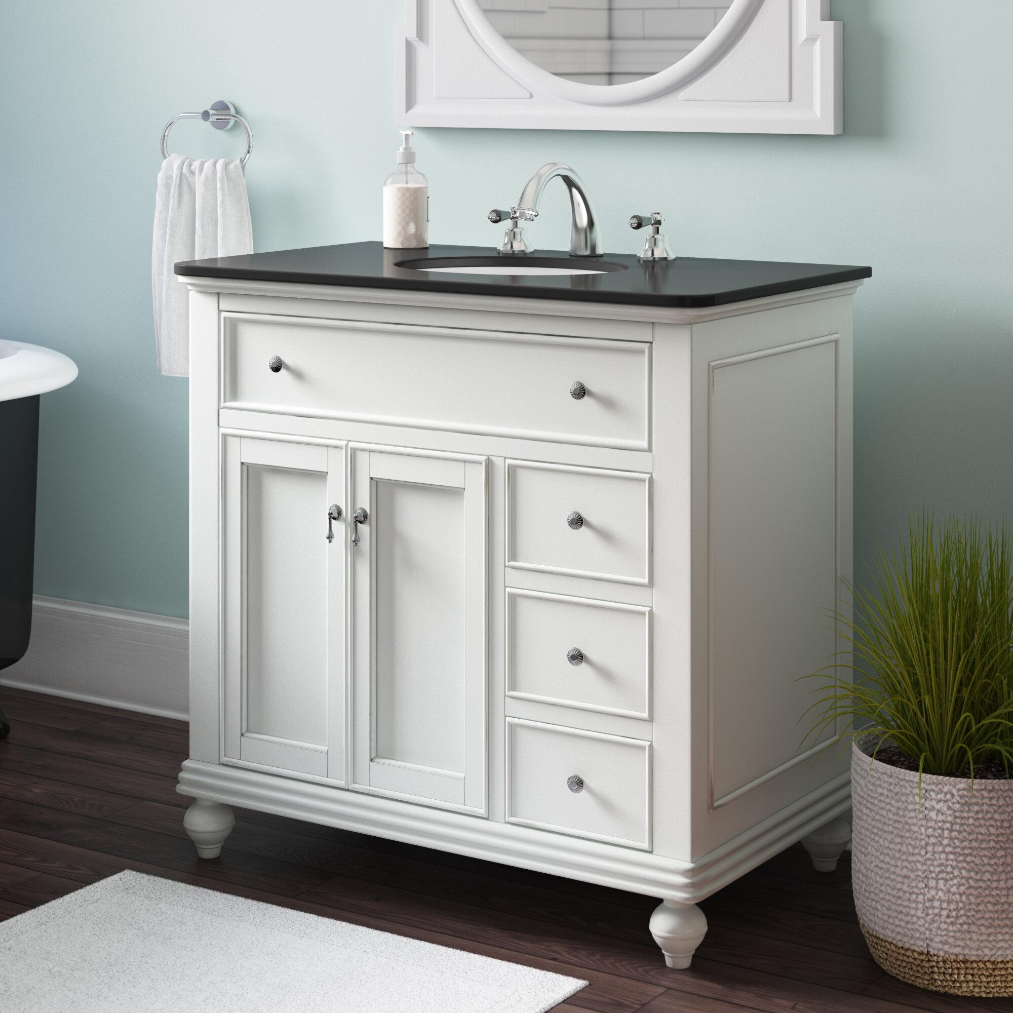 Rosecliff Heights Fawkes 36 Single Bathroom Vanity Set Reviews Wayfair Ca