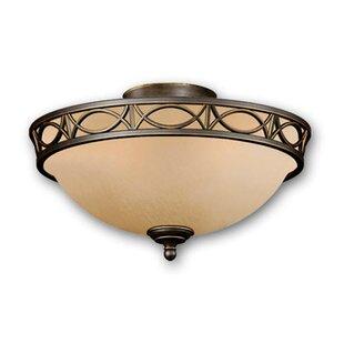 2-Light Bowl Ceiling