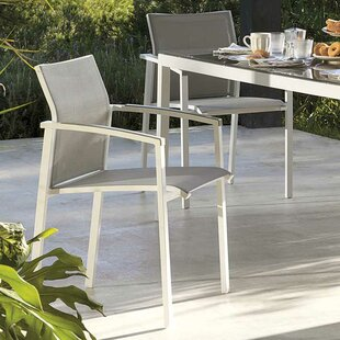 Strout Aluminium Stacking Armchair (Set Of 2) By Sol 72 Outdoor