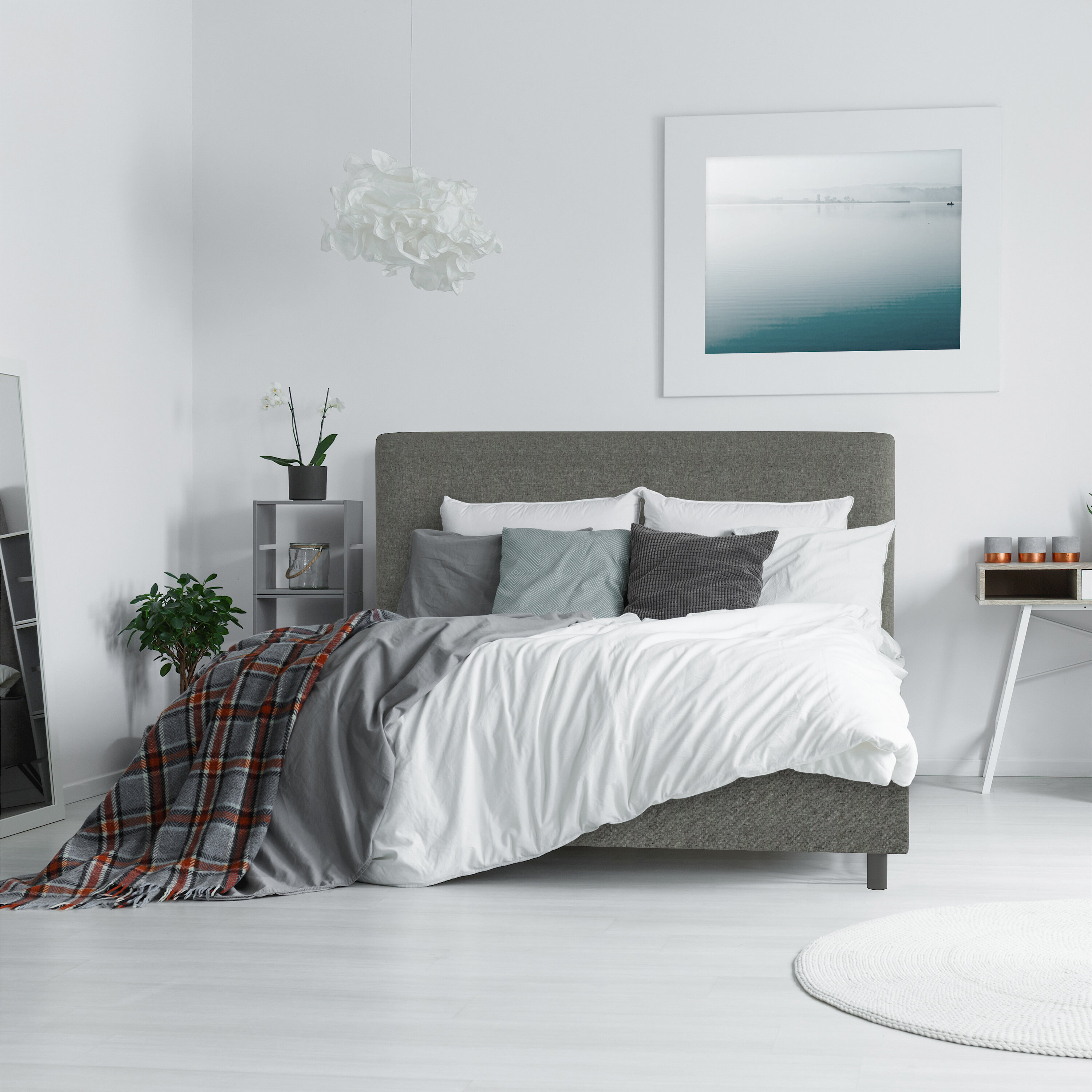 California King Upholstered Beds Up To 60 Off This Labor Day Wayfair