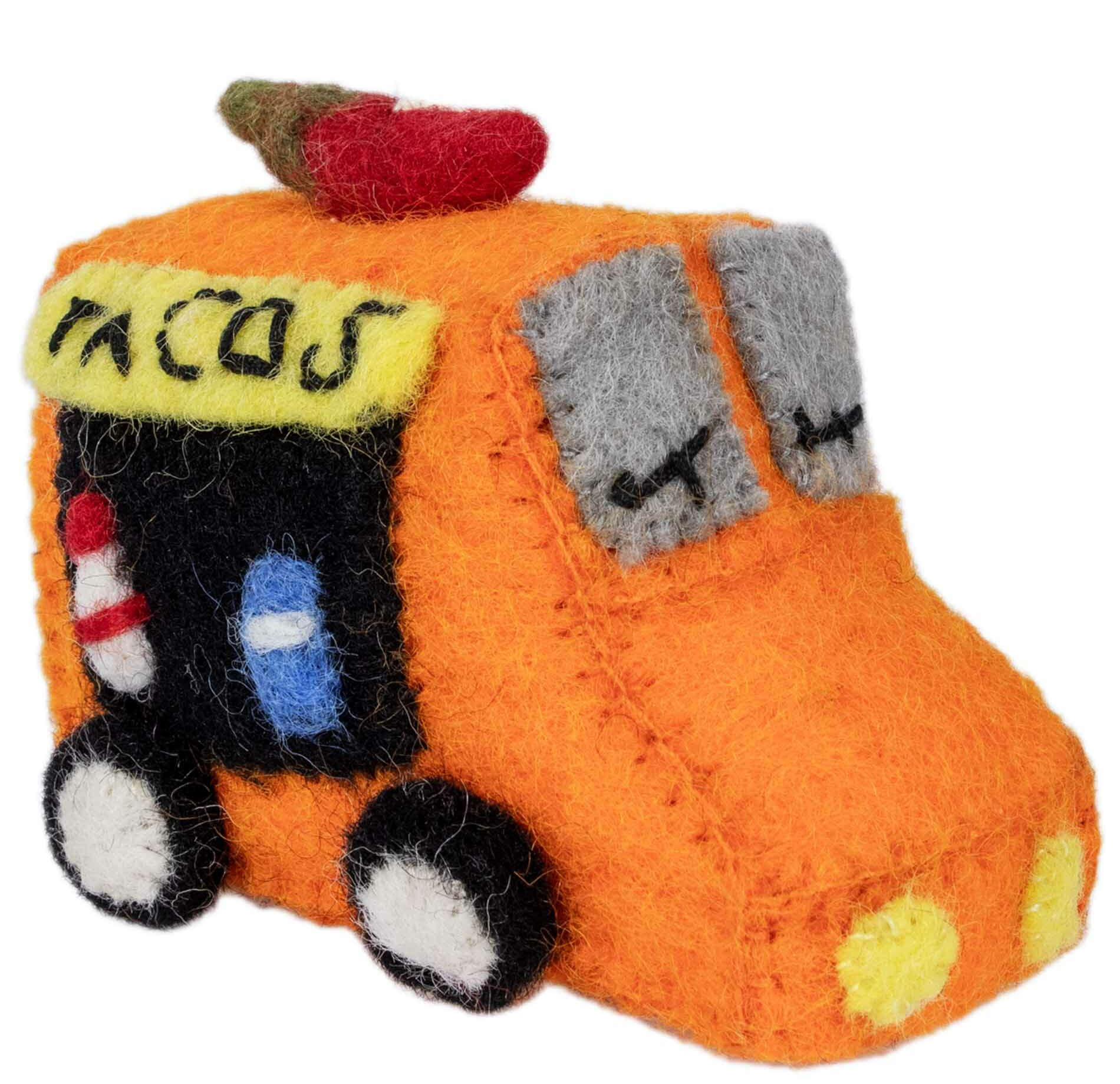 The Holiday Aisle Handmade Felt Taco Truck Hanging Figurine Ornament Wayfair