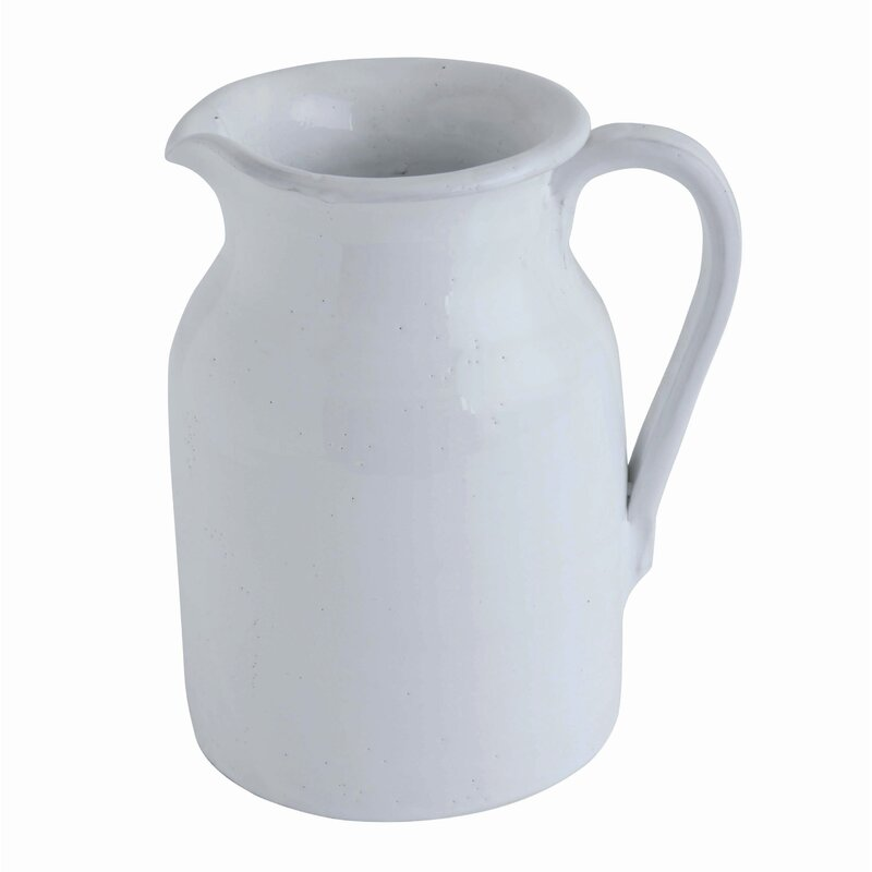 Heitzman Terracotta 112 oz. Pitcher - 15 Stunning European Country Inspired Farmhouse Ingredients