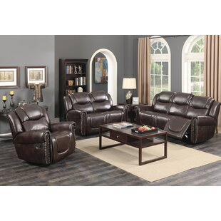 Lorelei Reclining 3 Pieces Living Room Set by Red Barrel Studio