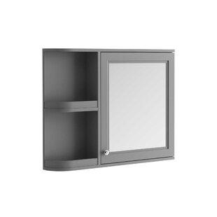 Noelle 88cm X 70cm Surface Mount Mirror Cabinet By August Grove